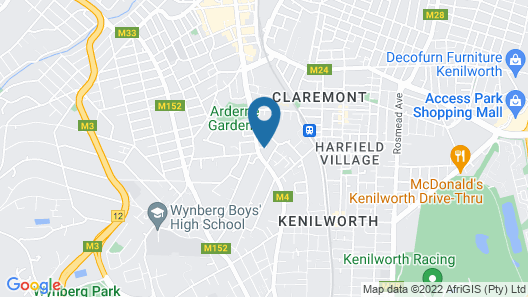 Cricklewood Place Luxury Holiday Homes Map