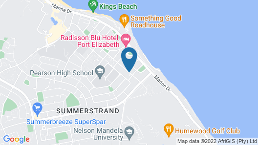 Kingfisher GuestHouse Map