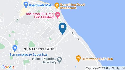 Aloe Manna Self Catering Map