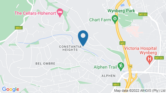 Constantia Home On Alphen Trail Map