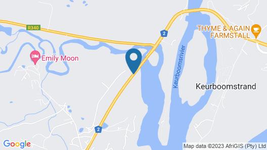 Plett River Lodge Map