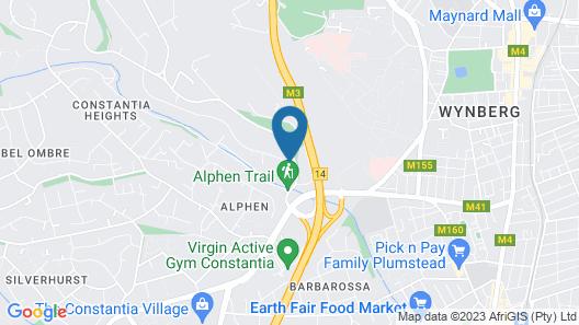 Alphen Boutique Hotel Map