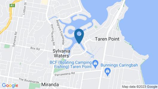 Serviced Waterfront Whole Villa Sydney Map