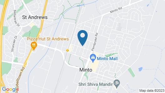 Minto Lodge Sydney Map