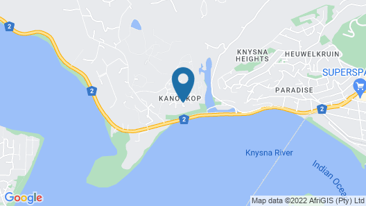 Kanonkop Guest House Map