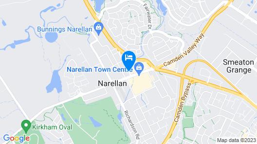 Narellan Motor Inn Map