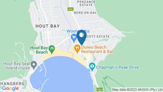 dk villas 1 Harbour View (Hout Bay) Map