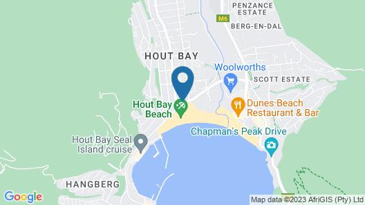 Beach House Hout Bay Map
