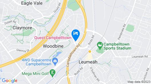 Quest Campbelltown Map