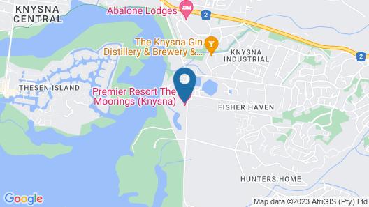 Premier Resort The Moorings, Knysna Map