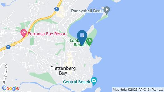 Milkwood Manor on Sea Map
