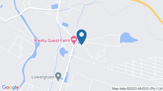 Kwetu Guest Farm Map