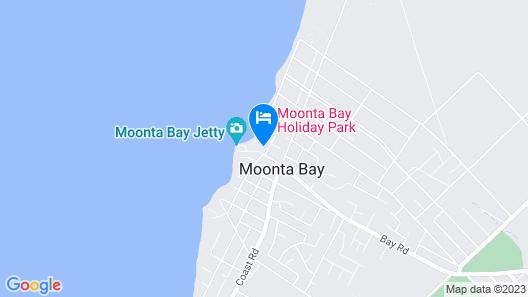 Moonta Bay Motel Map