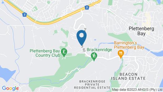 Piesang Valley Lodge Map