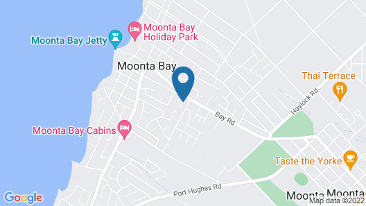 Moonta Bay Accommodation Map