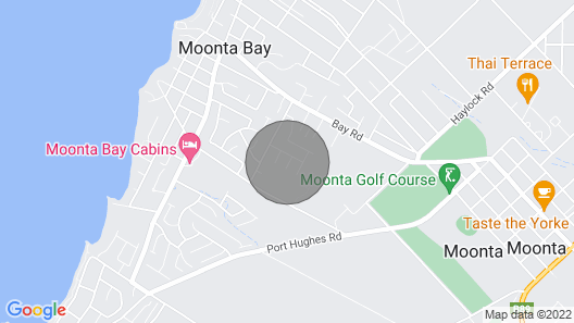 McTavish Dr, Moonta Bay Family Getaway +++Now With Free Unlimited WiFi+++ Map