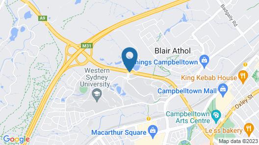 Western Sydney University Village-Campbelltown Campus Map