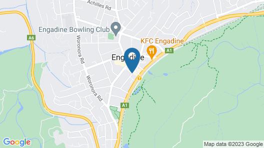 Sydney Executive Garden Apartments Map
