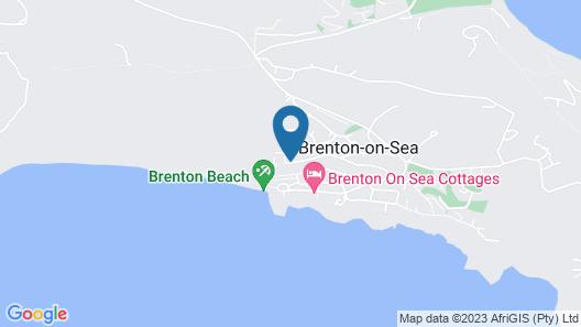 Brenton Beach House Map