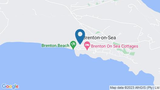 Brenton on Sea Chalets Map