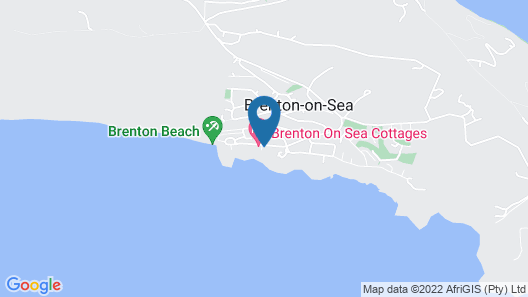 Brenton On Sea Cottages Map
