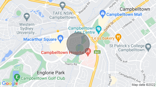 Campbelltown Most After Park Central House Map