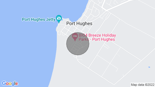 Port Hughes- extreme comfort, peaceful and relaxing holiday house! Map