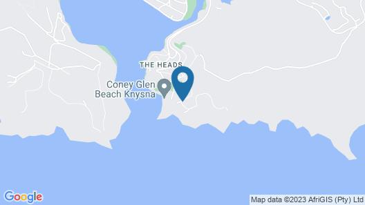 Head over Hills Luxury Retreat Map