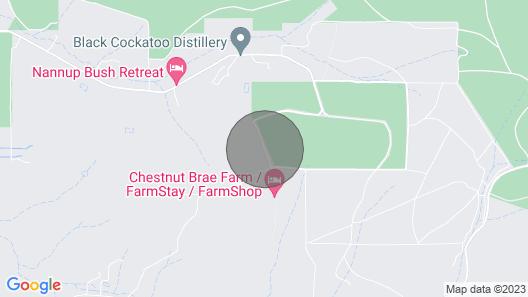 Chestnut Brae Farm Stay Map