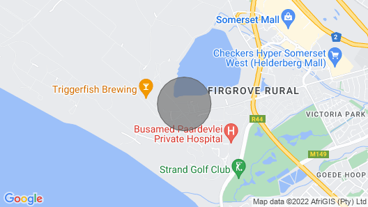 UniqueStay Paardevlei Square 3 Map