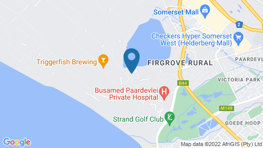 UniqueStay Paardevlei Square Apartment Map