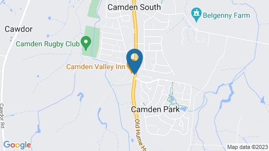Camden Valley Inn Map