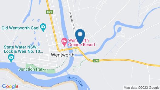Darling Junction Motor Inn Wentworth Map