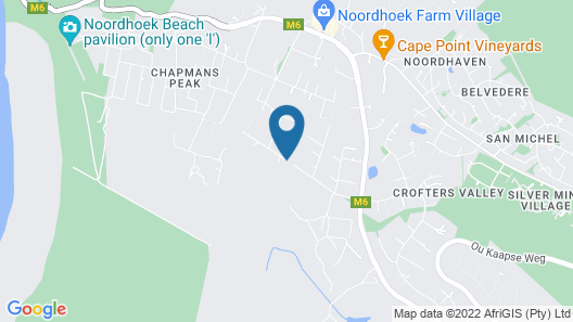 Noordhoek Country Suite With Pool and Gorgeous, Peaceful Surrounds. Map