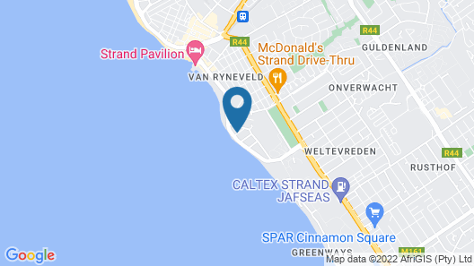 Ocean View Penthouse Map