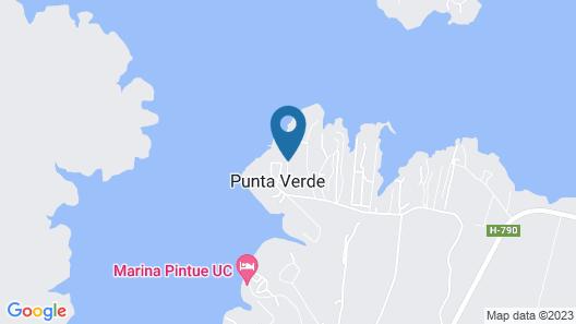 Casa en Rapel 956 Map