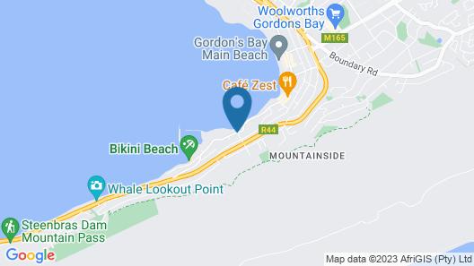 Berg en Zee Guesthouse Map