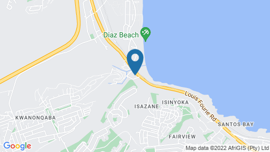 Oceans Hotel & Self Catering Map