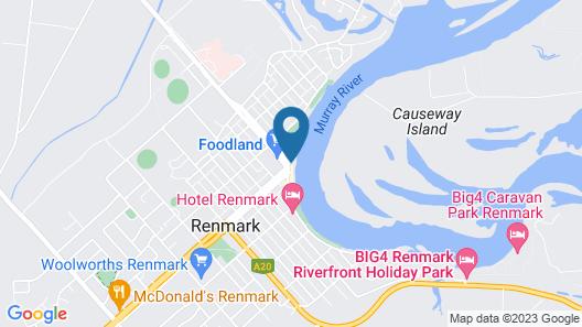 Murray River Queen Map