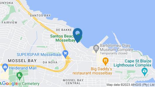 Santos Express Train Lodge - Hostel Map
