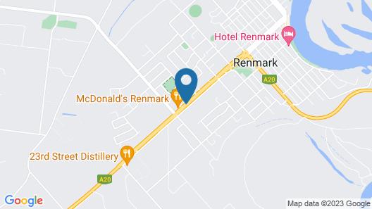 Renmark Motor Inn Motel Map