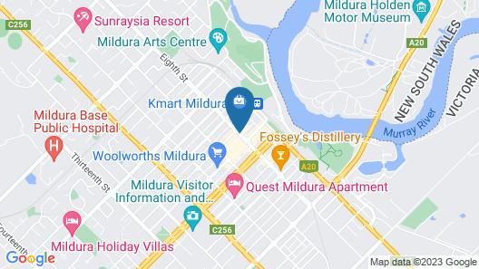 Indulge Apartments CBD Map