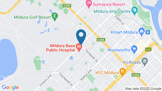 Indulge Apartments - Ontario Map