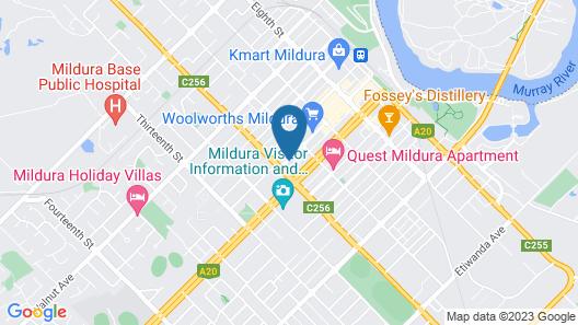 Indulge Apartments Langtree Map