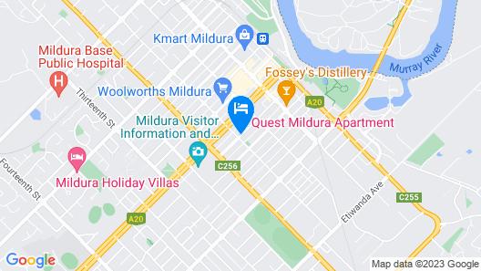 Quest Mildura Map