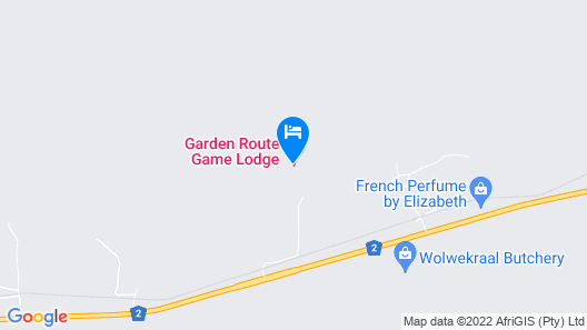 Garden Route Game Lodge Map