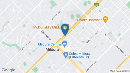 Mildura Motor Inn Map