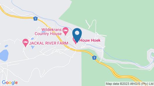 Houw Hoek Hotel Map