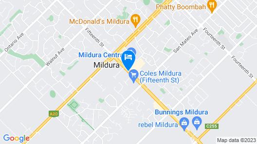 Mildura Plaza Motor Inn Map
