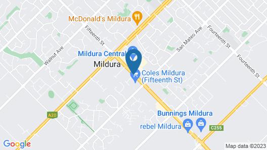 Desert City Holiday Park Map